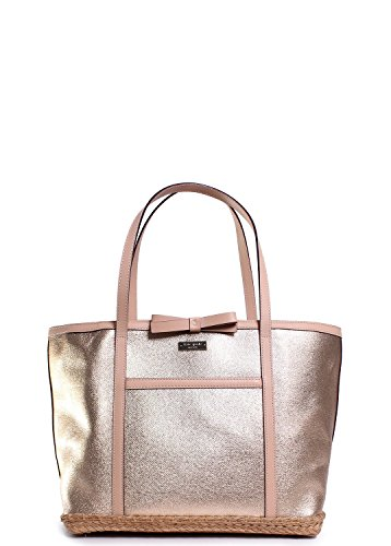 Kate Spade Capri Espadrille Francis Tote In Gold front-638775