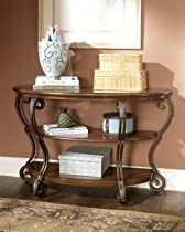 Hot Sale Signature Design by Ashley Nestor Sofa Table