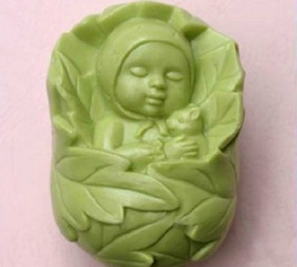 Allforhome Sleeping Baby 50236 Craft Art Silicone Soap Mold Craft Moulds Diy Handmade Soap Molds