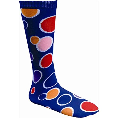Polka Dot Blue Knee Socks - One Size