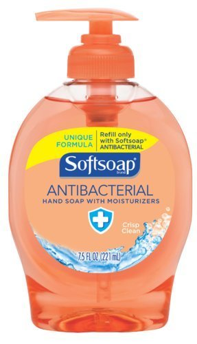 softsoap-crisp-clean-antibacterial-liquid-hand-soap-75-oz-case-of-12-by-softsoap