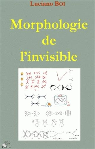 Libro Morphologie    de       l invisible         Transformations       d