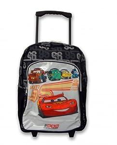 Disney Cars Rsn Mcqueen Pvc Front Wheeled Bag from Linen Ideas Ltd