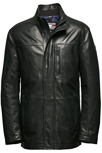 Pierre Cardin Nappa-Giacca Giacca in pelle/Long Black 30