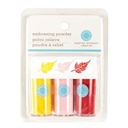 Martha Stewart Crafts Essentials Embossing Powder Pastels By The Package