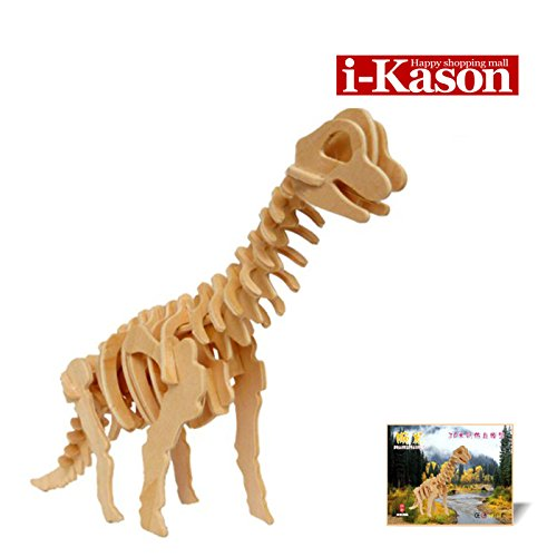 Authentic High Quality i-Kason® New Favorable Imaginative DIY 3D Simulation Model Wooden Puzzle Kit for Children and Adults Artistic Wooden Toys for Children - Carpal Dragon - 1