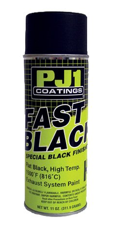 PJ1 SPRAY FLAT BLACK HI-TEMP PAINT - 2000F NET WT. 11 OZ, Manufacturer: Wiseco, Manufacturer Part Number: 16-HIT-AD, Stock Photo - Actual parts may vary. (Hi Temp Flat Black Paint compare prices)
