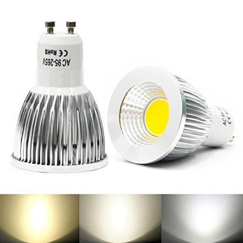 Eyourlife Gu10 9W Led Cob Spot Down Light Ceiling Lamp Bulb Color Natural White