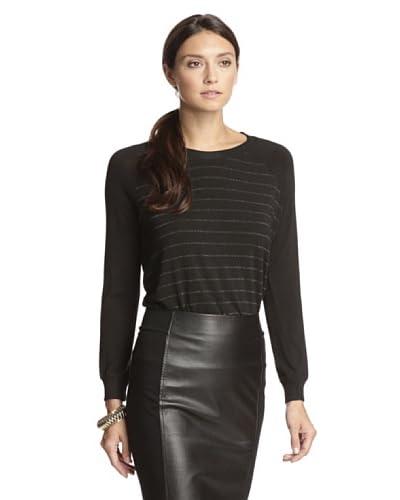 Bella Luxx Women's Raglan Pullover Sweater