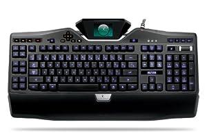 Logitech G19 Gaming-Tastatur USB schnurgebunden (deutsches Tastaturlayout, QWERTZ)