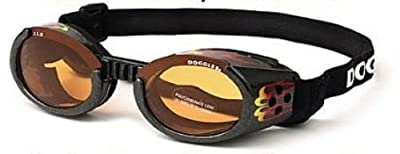 Doggles - ILS Small Flames Frame / Orange Lens (DODGILSM-12) -