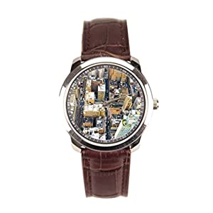 Besgirler Leather Watch For Men Downtown Wrist Watch Mens Canyons