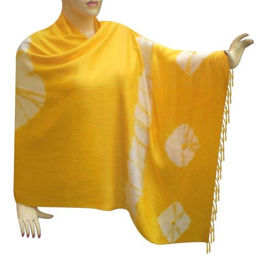 Tie & Dye Cotton Stole For Women Handmade Neck Wear From India