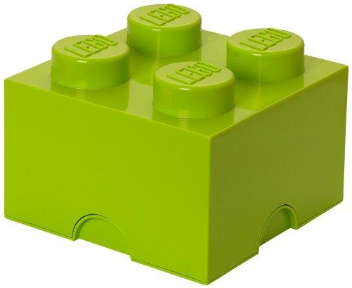 LEGO Friends Storage Brick 4, Lime Green - 1
