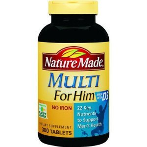 Nature Made Multi for Him - 300 Tablets (Nature Made 300 compare prices)