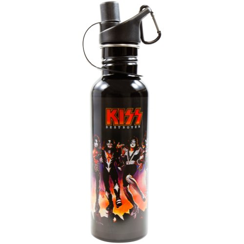 Kiss - Destroyer Water Bottle front-990677