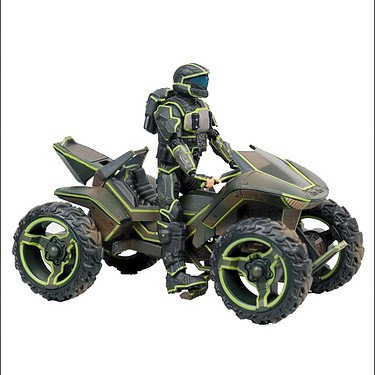Halo: Mongoose ATV with ODST Rookie