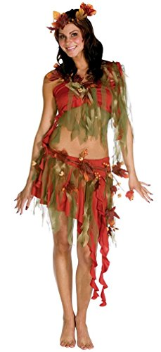 Autumn Nymph Costume - One Size - Dress Size 6-10 front-863979