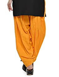 Stylenmart Ready To Wear Mustered Full Patiala Salwar