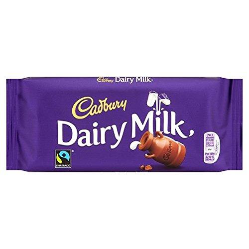 Cadbury Dairy Milk Chocolate Bar 17 x 110g Bars (Bulk Buy)