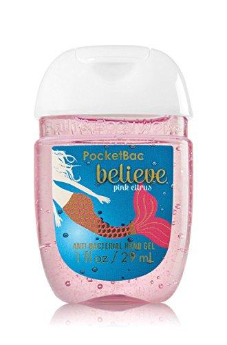 Bath & Body Works PocketBac Hand Gel Sanitizer Believe Pink Citrus Believe Bath
