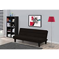 Kebo Futon Low-Set Sofa Bed w/Microfiber Cover