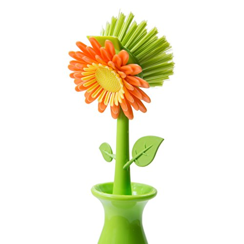 CatRat's Blooming Flower Kitchen Dish Brush (Green) (Flower Kitchen compare prices)