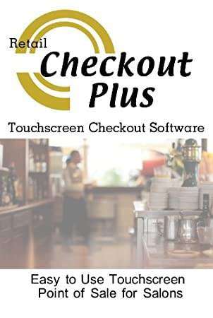 POS Checkout Plus Resturants and Bars Point of Sale Checkout Software; Inventory Management & Control, Touchscreen Point of Sale; Software Only Windows Only CDROM