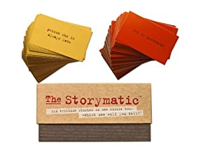 The Storymatic Classic -- 540 Unique Cards -- Tell Stories, Play Games, Make Art, and More -- Includes Booklet with Prompts, Games, and Activities-- Made in USA