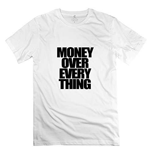 Money Over Everything Fashion Men Tee Shirt