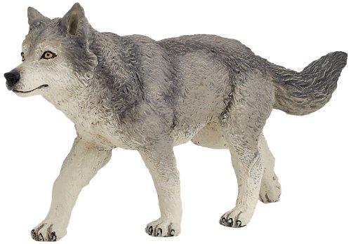 Papo 53012 Grey Wolf Figure