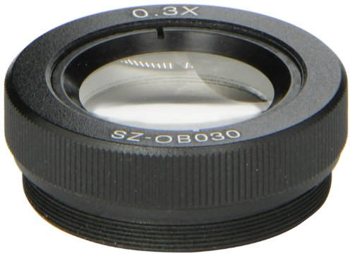 O.C. White Sz-Ob-030 Auxiliary Objective Lens For Prolite Microscopes, 0.3X Magnification