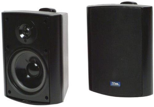 Tic Ticasp25W 75-Watt Outdoor Patio Speaker With 70-Volt Switching - Black