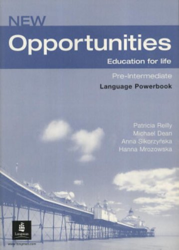 New Opportunities Pre-Intermediate. Language Powerbook: Global Pre-intermediate Language Powerbook