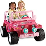 Power Wheels Barbie Jammin' Jeep Wrangler