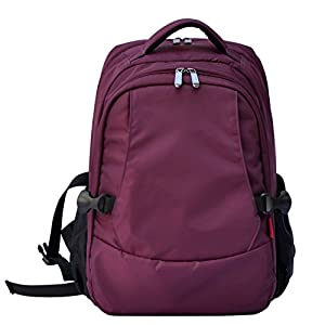 damero travel backpack diaper bag purple baby. Black Bedroom Furniture Sets. Home Design Ideas