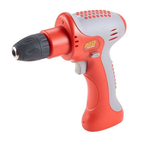 Red Tool Box Cordless Drill