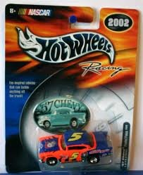 2002 Hot Wheels Racing '57 Chevy Frosted Flakes 1 of 4 in A Series