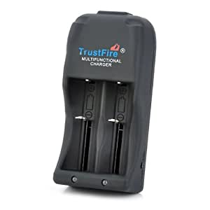 TrustFire TR-006 Dual-Slot 25500 / 26650 / 26700 / 18650 / 16340 Battery Charger with UK adapter (AC 110~240V)