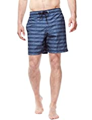 North Coast Aztec Print Swim Shorts