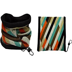 Doramior® variety colors Face mask Neck warmer Head scarf Multifunctional outdoors scarf (G-style)