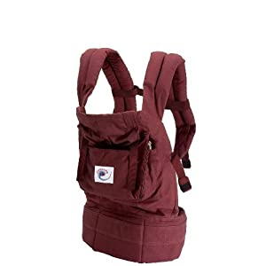 The New Generation ERGO Baby Carrier - Cranberry with Cranberry Lining