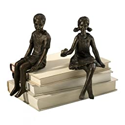 Decorative 8In. Girl Shelf Figurine