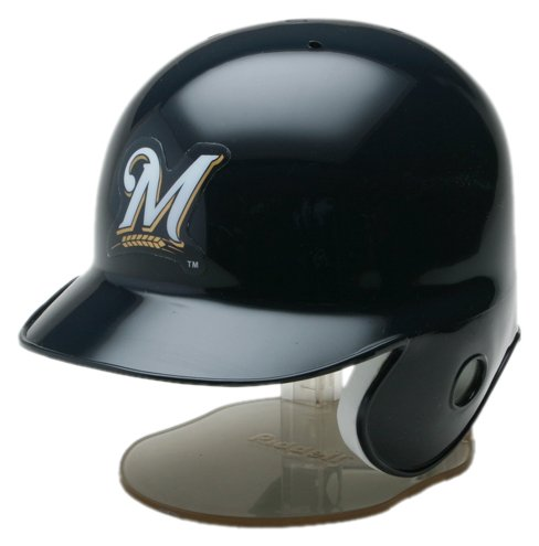 MLB Milwaukee Brewers Replica Mini Baseball Batting