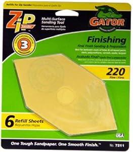 Gator Finishing 7211 Step-3 Zip Sander Refill Sandpaper