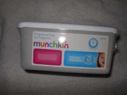 Munchkin Frgrance Free Wipes (1 Pack of 72) - 1