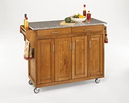 Superb Home Styles Create a Cart Series Cabinet Kitchen Cart with