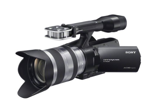 Sony NEX-VG20EH 18-200mm Interchangeable Lens Full HD Camcorder