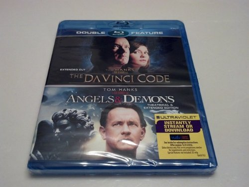The Da Vinci Code / Angels & Demons Blu-Ray Double Feature Pack (Tom Hanks, Dan Brown) Both Hit Movies In 1 Set front-337190