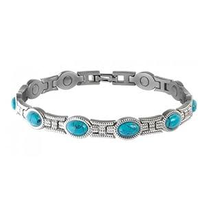 Buy Sabona Lady Turquoise Magnetic Bracelet (Various Sizes) by Sabona